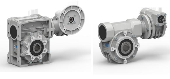 Combination Worm Gearboxes (VKS, VKE series) | Sati Spa
